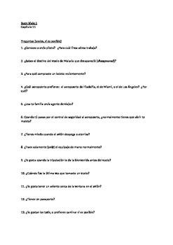 Buen Viaje 1 - Capitulo 11 - Vocab Practice