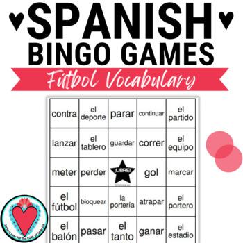 Spanish Soccer BINGO