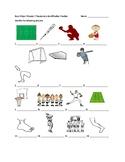 Buen Viaje 1 Chapter 7 Vocabulary Identification Practice/Quiz