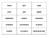 Buen Viaje 1 Lecciones preliminares vocabulary cut-outs