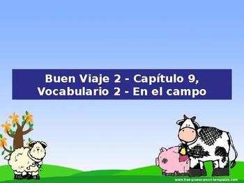 Buen Viaje 2 - 9.2 En el campo vocabulario