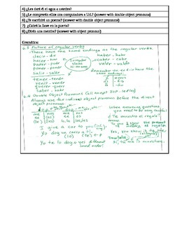 Buen Viaje 2 Chapter 1 - 6 - vocabulary and translations