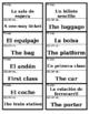 Buen Viaje Chapter 2, Palabras 1 Vocab Game