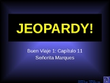 Buen Viaje Level 1 - Chapter 11 Jeopardy Review Game