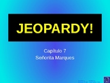Buen Viaje Level 1 - Chapter 7 Jeopardy Review Game