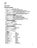 Buen Viaje Level 2 Chapter 3 Open Note Test
