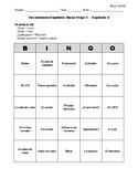 Buen Viaje Spanish 1 - Chapter 4 - Bingo Cards Set
