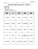 Buen Viaje Spanish 1 - Chapter 6 - Bingo Cards Set