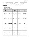 Buen Viaje Spanish 1 - Chapter 7 - Bingo Cards Set