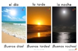 Buenos Dias /Tardes/Noches - Time of Day Poster