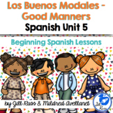 Buenos Modales Good Manners Beginning Spanish Lessons for Elementary