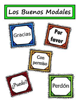 Buenos Modales Poster
