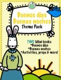 Buenos días Greetings Spanish Theme Pack