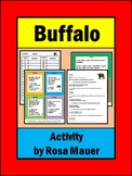 Buffalo Nature's Children Task Cards and Worksheet Activity