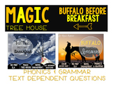Buffalo Before Breakfast NO PREP and Text Dependent Questions BUNDLE