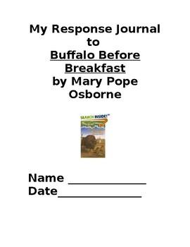 Buffalo Before Breakfast Response Journal