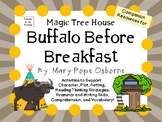Buffalo Before Breakfast by Mary Pope Osborne:  A Complete  Novel  Study!