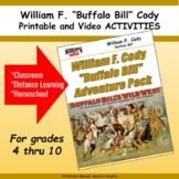 Buffalo Bill Cody Printable and Video ACTIVITIES