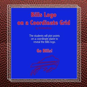 Buffalo Bills Logo on the Coordinate Plane