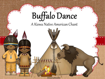 Buffalo Dance; A Native American Song - PDF Edition