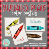 Buffalo Plaid Color Posters