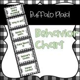 Buffalo Plaid Farmhouse Themed Behavior Chart