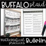 Buffalo Plaid - Mathematical Practice Bulletin Display - W
