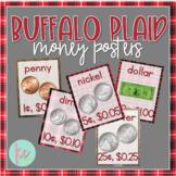 Buffalo Plaid Money Posters