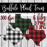 Buffalo Plaid Texas Clipart - 6 files