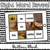 Buffalo Sight Word Reveal Set 4   Kindergarten Boom Cards