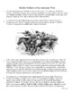 Buffalo Soldiers Informational Text Relay