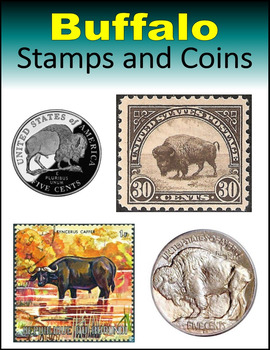 Buffalo Stamps and Coins