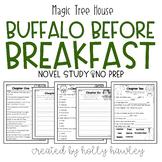 Magic Tree House: Buffalo Before Breakfast-A Guided Reading Activity
