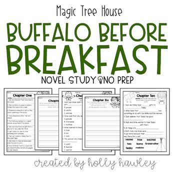 Magic Tree House: Buffalo Before Breakfast-A Magic Tree House Activity