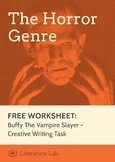 Buffy the Vampire Slayer: Creative Writing Task