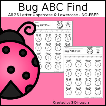 Bug ABC Letter Find