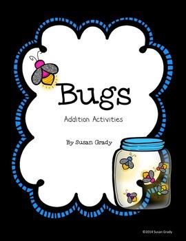 Bug Addition Activities