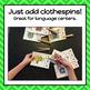 Bug Alphabet Clip It Cards - S