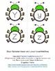 Bug Alphabet Matching Upper & Lower Case
