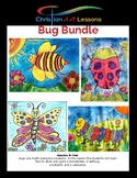Art Lesson Bundle 4 Bugs for the Price of 3