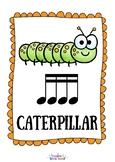 Bug Beats - Adorable Bug Themed Rhythm Flashcards and Poster set