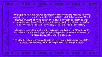 Bug Board: Problem Solving Tool