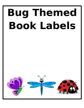 Bug Book Labels