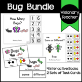 Bug Bundle: Interactive Books and Task Cards (6 ITEMS INCLUDED)