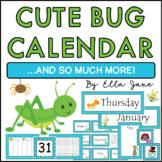 Bug Calendar Bulletin Board Set