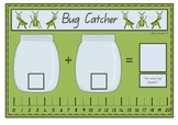 Bug Catcher Addition Mat Activity