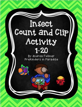 Bug Catcher Count and Clip 1-20