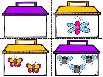 Bug Catcher Number Identification Game
