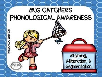 Bug Catchers Phonological Awareness - Preschool