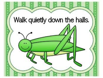 Bug Classroom Theme | Bug Theme Classroom Rules | Bug Class Rules